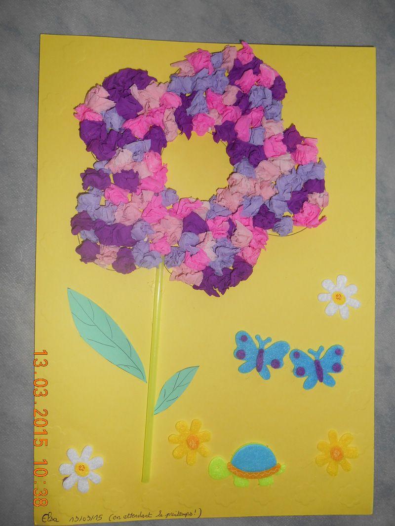 Top Fleur papier crépon FE05